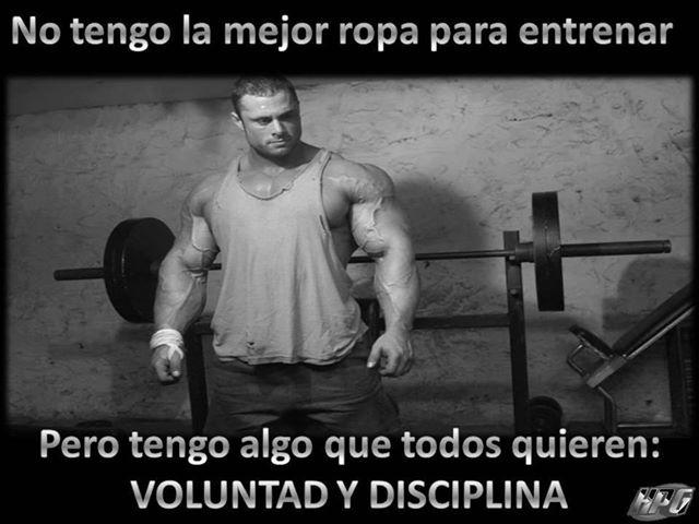 voluntad y disciplina