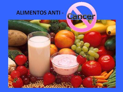 alimentos anticancer