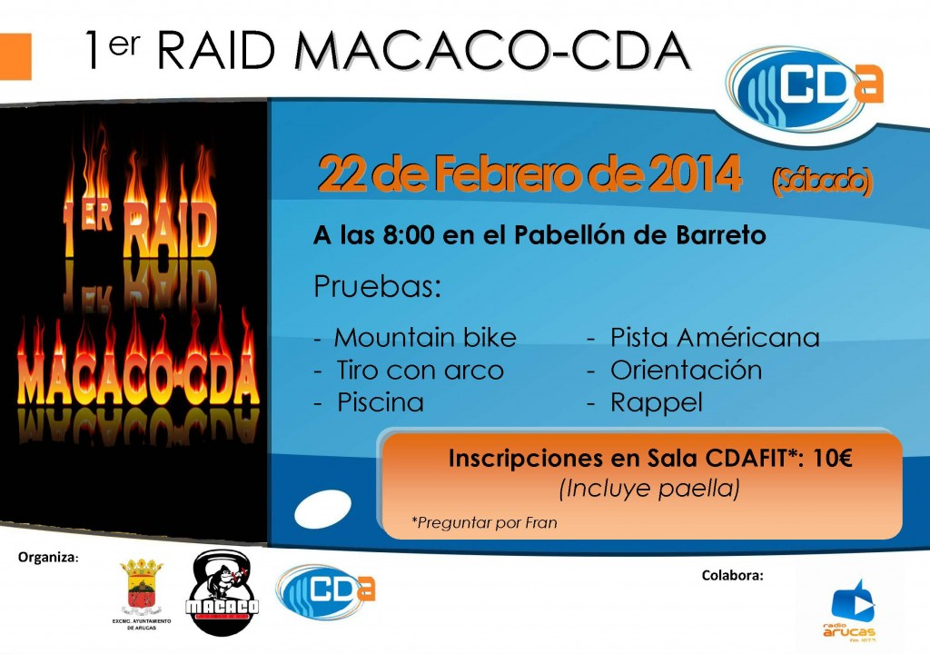 1er RAID CDA