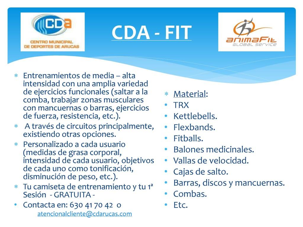 Presentación CDA - FIT