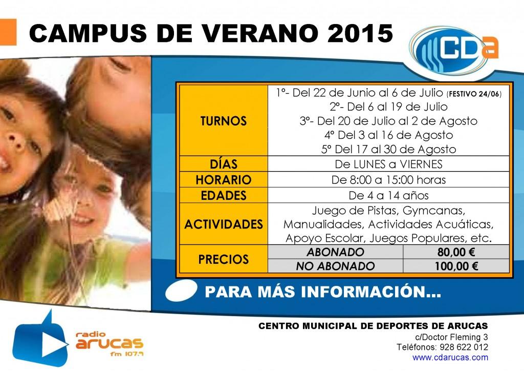 CARTEL Campus de Verano cda 2015