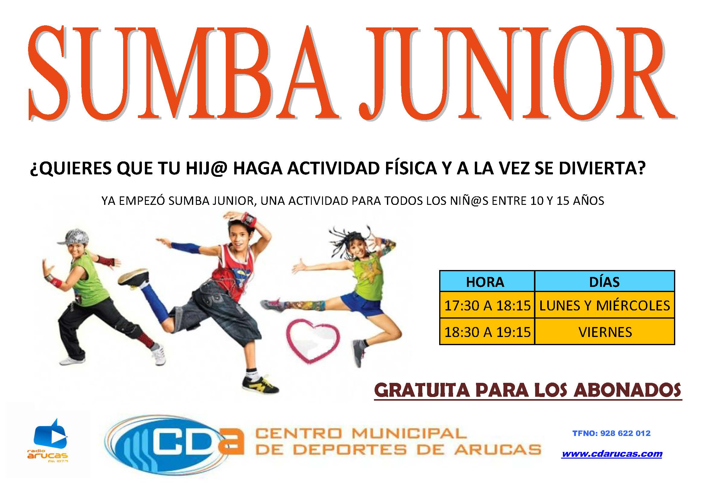 CARTEL SUMBA JUNIOR'15