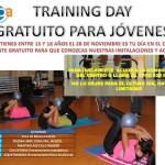 TRAINING DAY GRATUITO PARA JÓVENES (Entre 15 y 18 años)