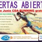 MASTERCLASS CDA-RUNNING CON JORNADA DE PUERTAS ABIERTAS