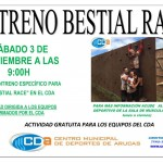 PRIMER ENTRENO ESPECÍFICO PARA LA BESTIAL RACE